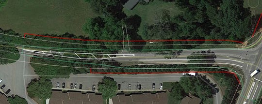 An image provided by SCDOT shows the new width of a section of Bethel Road near the intersection with State 14.