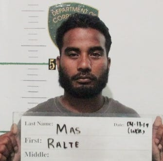 Ralte Mas allegedly assaulted two with box cutter in Dededo