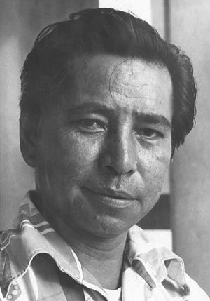 "Former Sinajana Mayor Alfonso ""Al"" Pangelinan, as photographed in 1974."