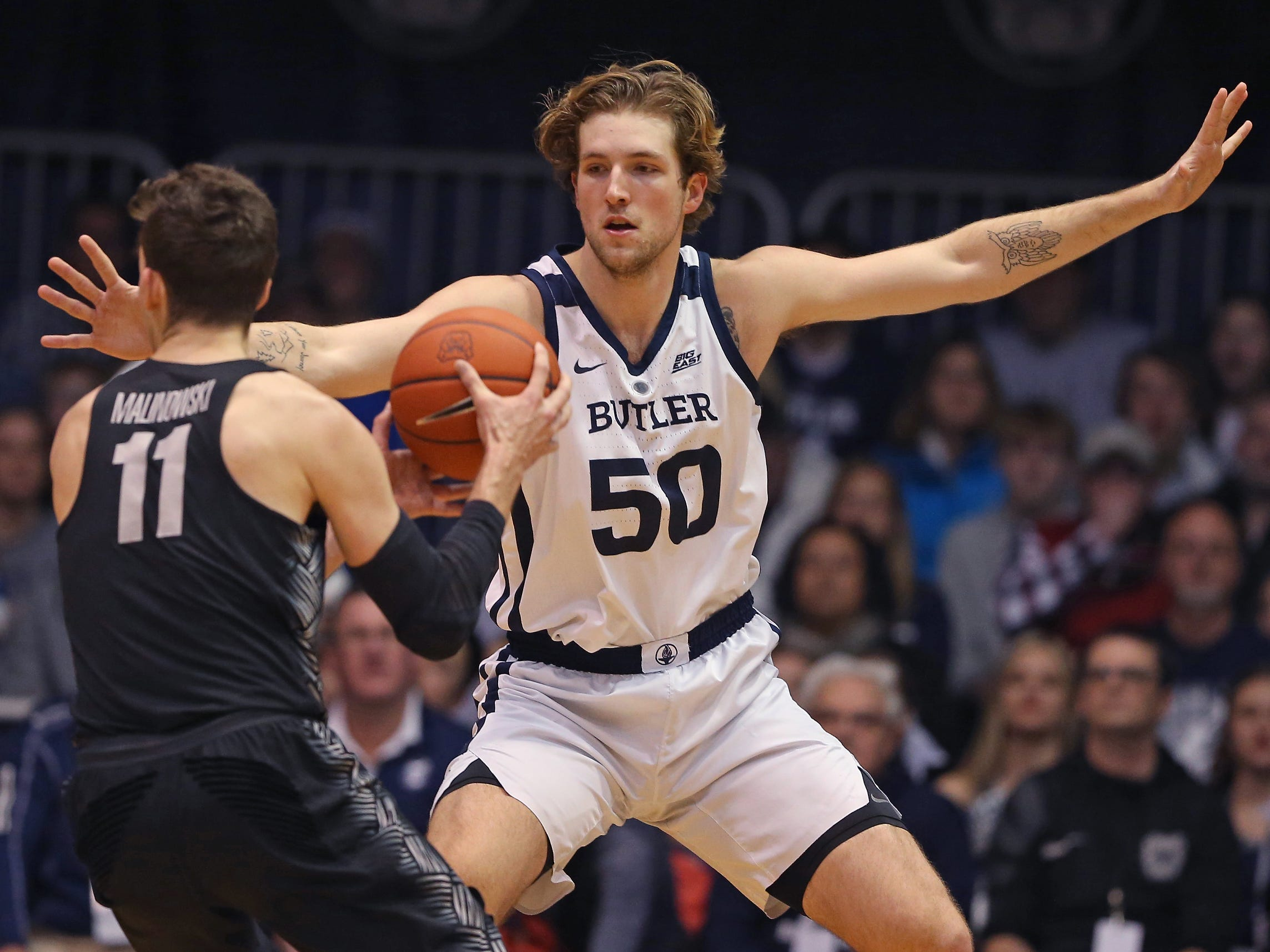 IU basketball incoming transfer Joey Brunk had to 'bet on himself' in decision to leave Butler for Hoosiers