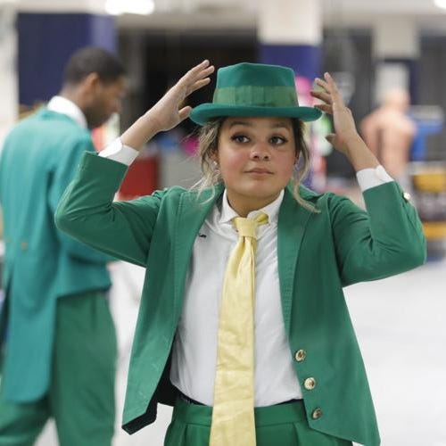 Notre Dame's first female leprechaun: 'Who says the Fighting Irish can't fight like a girl?'