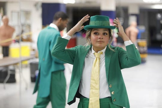 Lynnette Wukie said she feels it was her destiny to be the first female leprechaun for Notre Dame.