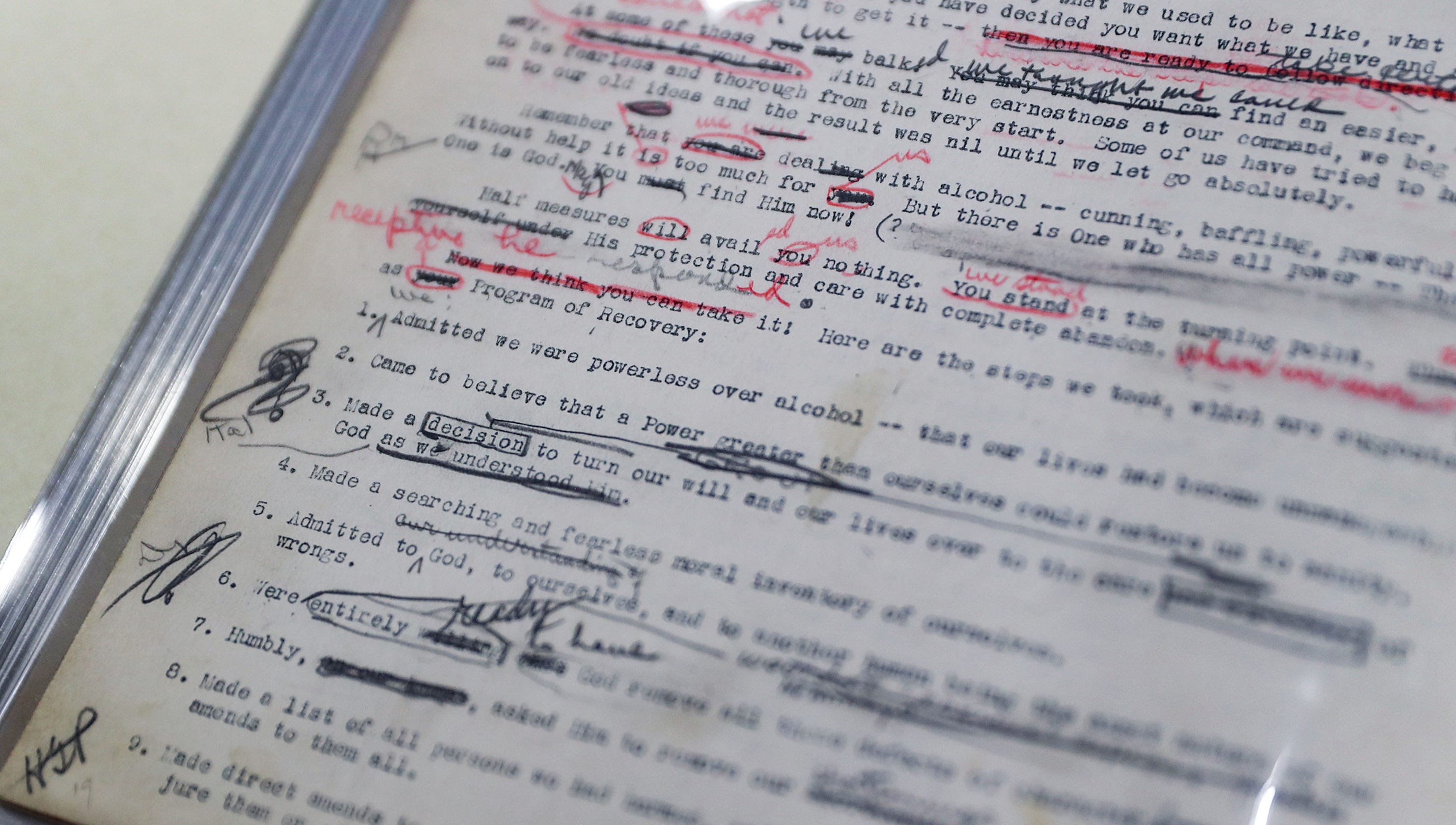 4b960118681784 Why Jim Irsay spent  2.4 million on a manuscript with pencil scrawls in the  margins