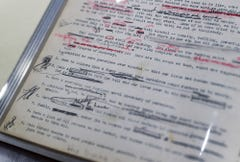 This original manuscript of the Alcoholics Anonymous Big Book lives in Indiana