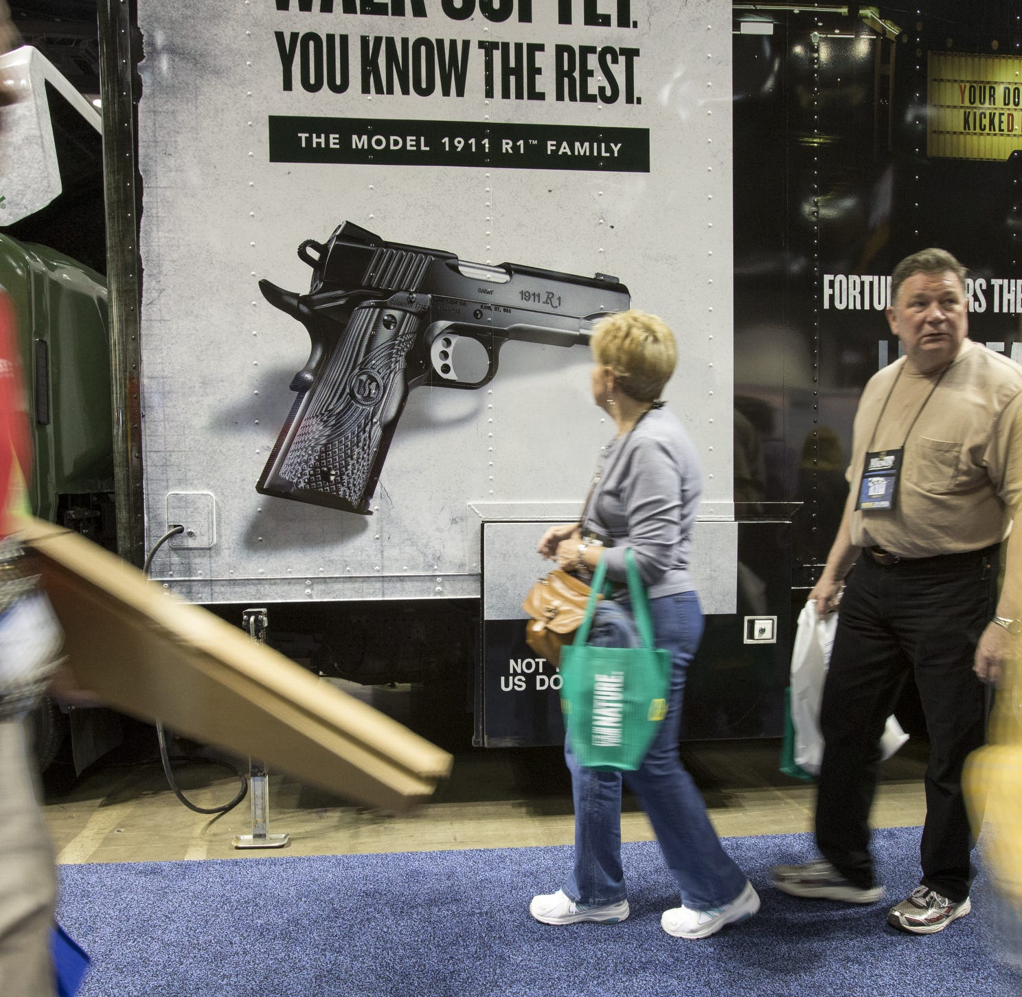 Here's what the NRA and Indianapolis hotels, restaurants said about convention-goers with firearms