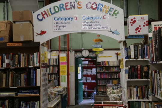 Step into the Children's Corner, and you will find many books for kids.