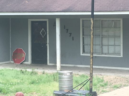 This home at 1771 Casteel Drive in south Jackson is being rented by members of the Omega Psi Phi fraternity. Neighbors say excessive partying in the middle of a residential area is continuing to create problems.  The same fraternity is in the midst of a lawsuit stemming from a shooting during a block party at a previous residence in Jackson.