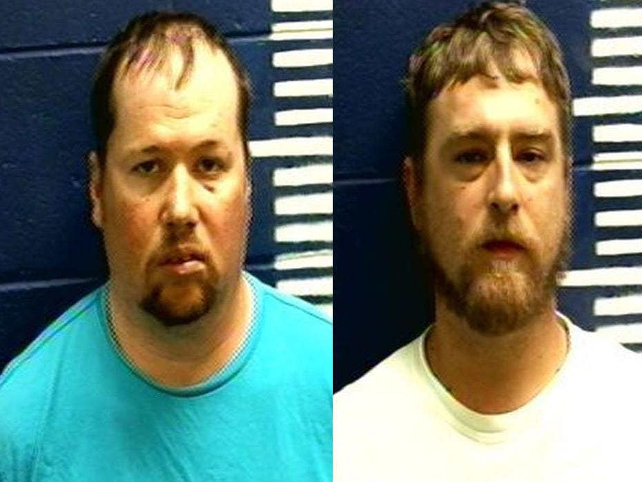 Men admit to brutal video attack, blame drinking, feud, sheriff says