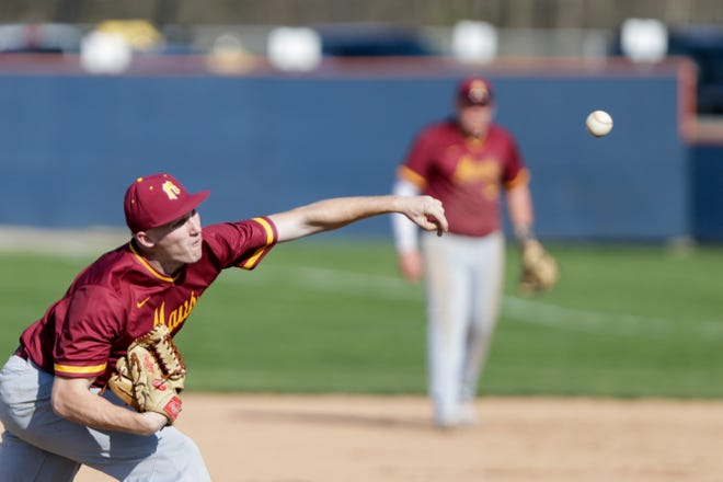 Connor Ayers had a big day in helping McCutcheon win the North Central Conference on Saturday.