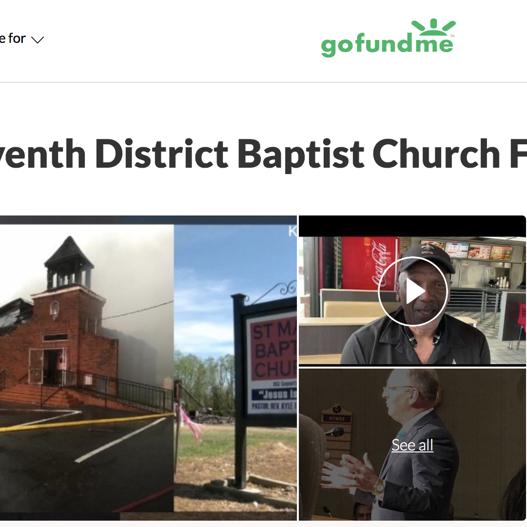 GoFundMe raises more than $1.8 million for black St. Landry churches burned in arsons