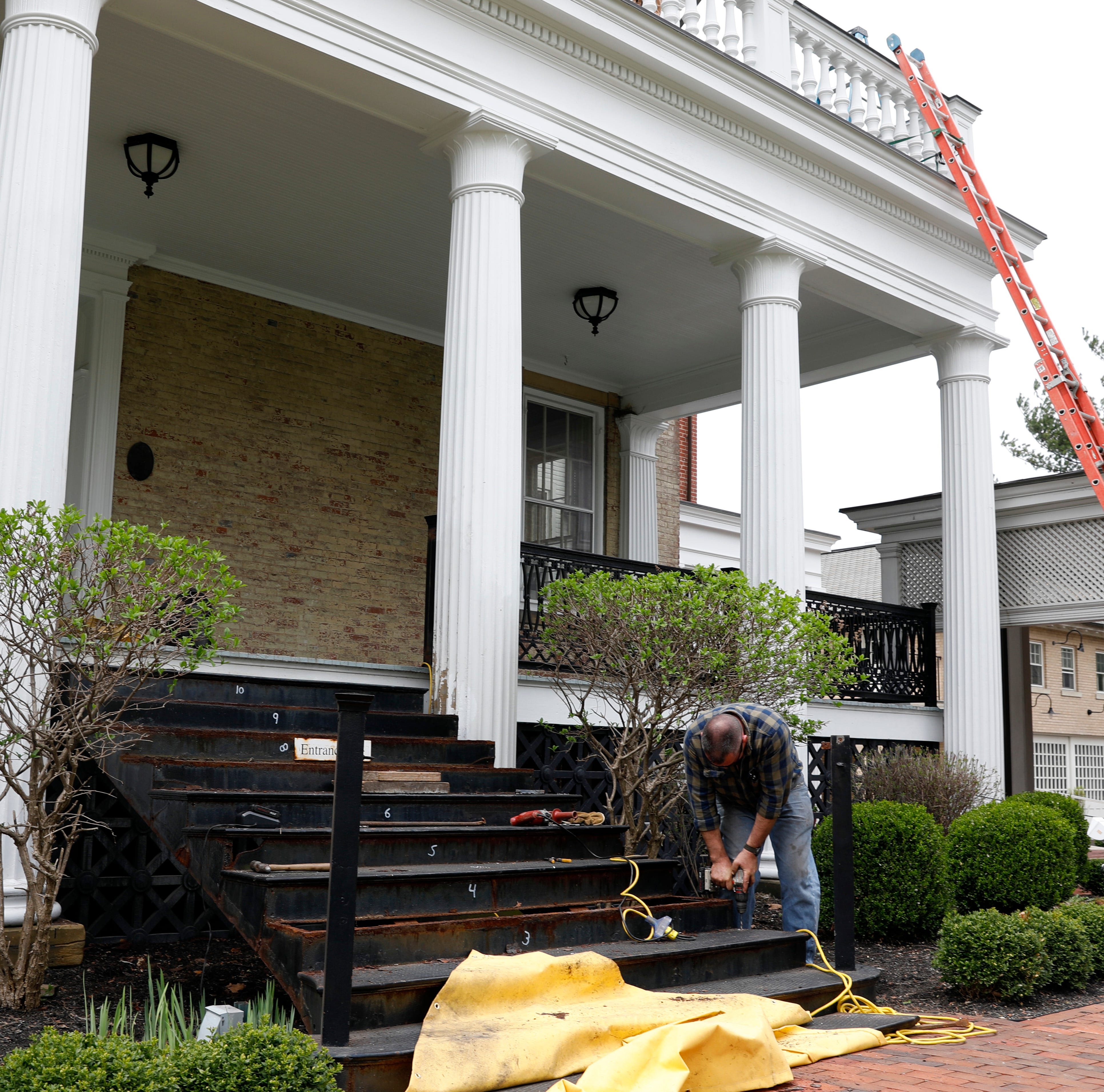 DACO and Company Wrench owner team up to repair museum steps