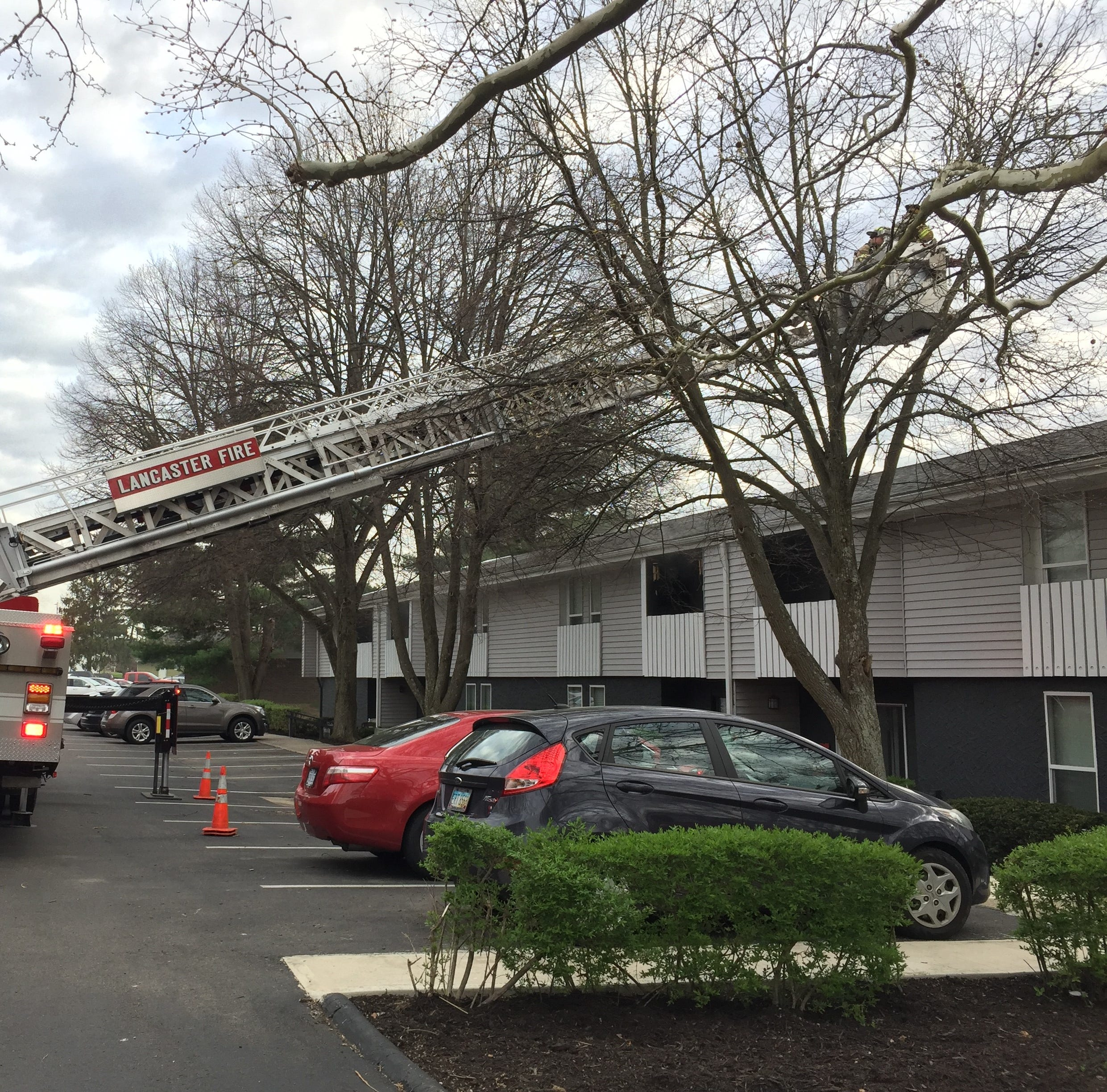 One person taken to hospital, after Somerford Square Apartments fire