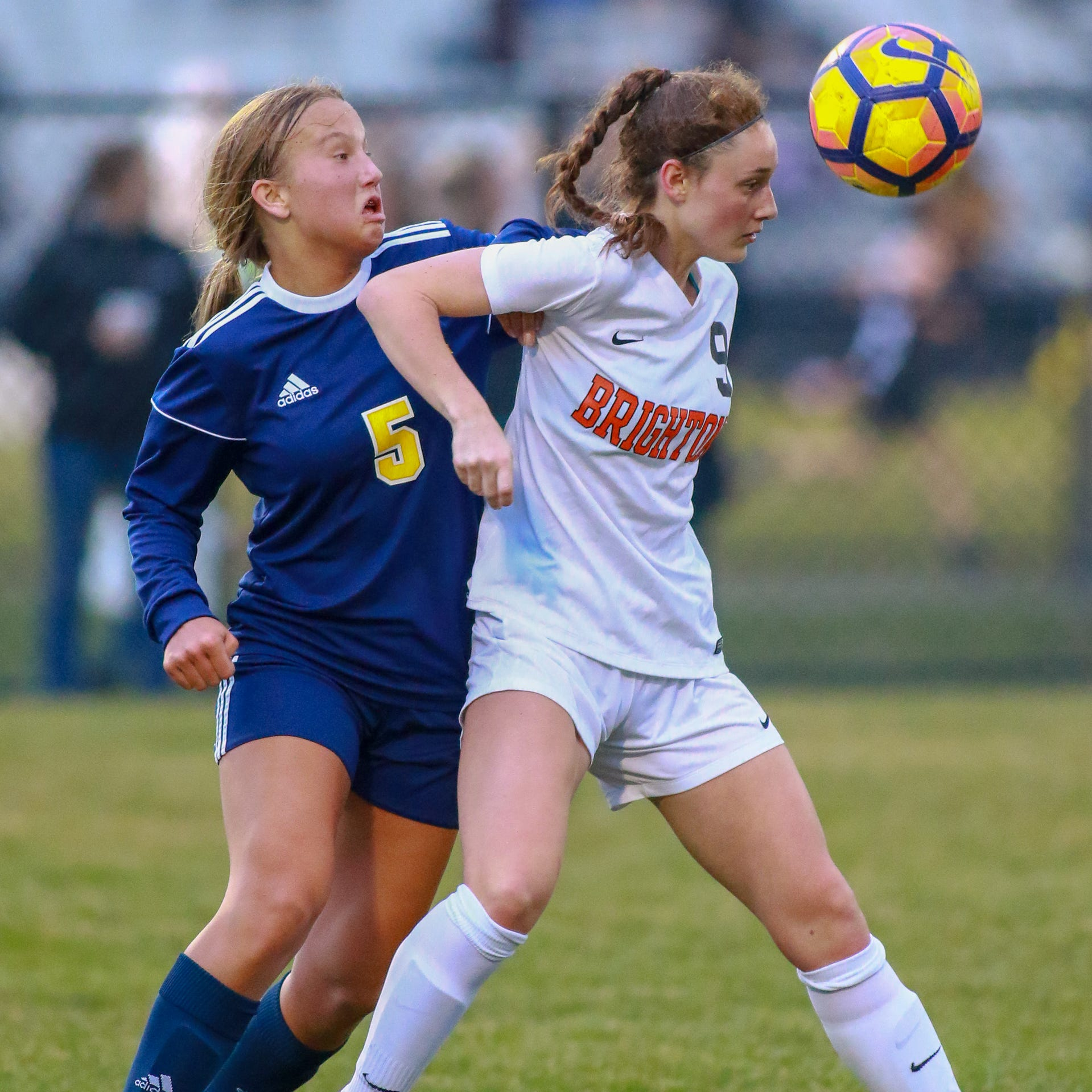 After beating Brighton, Hartland girls soccer looks ahead to No. 1 Novi