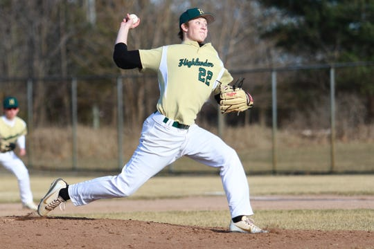 Howell's Luke Russo had his no-hit streak end in a 2-1 loss to Salem.