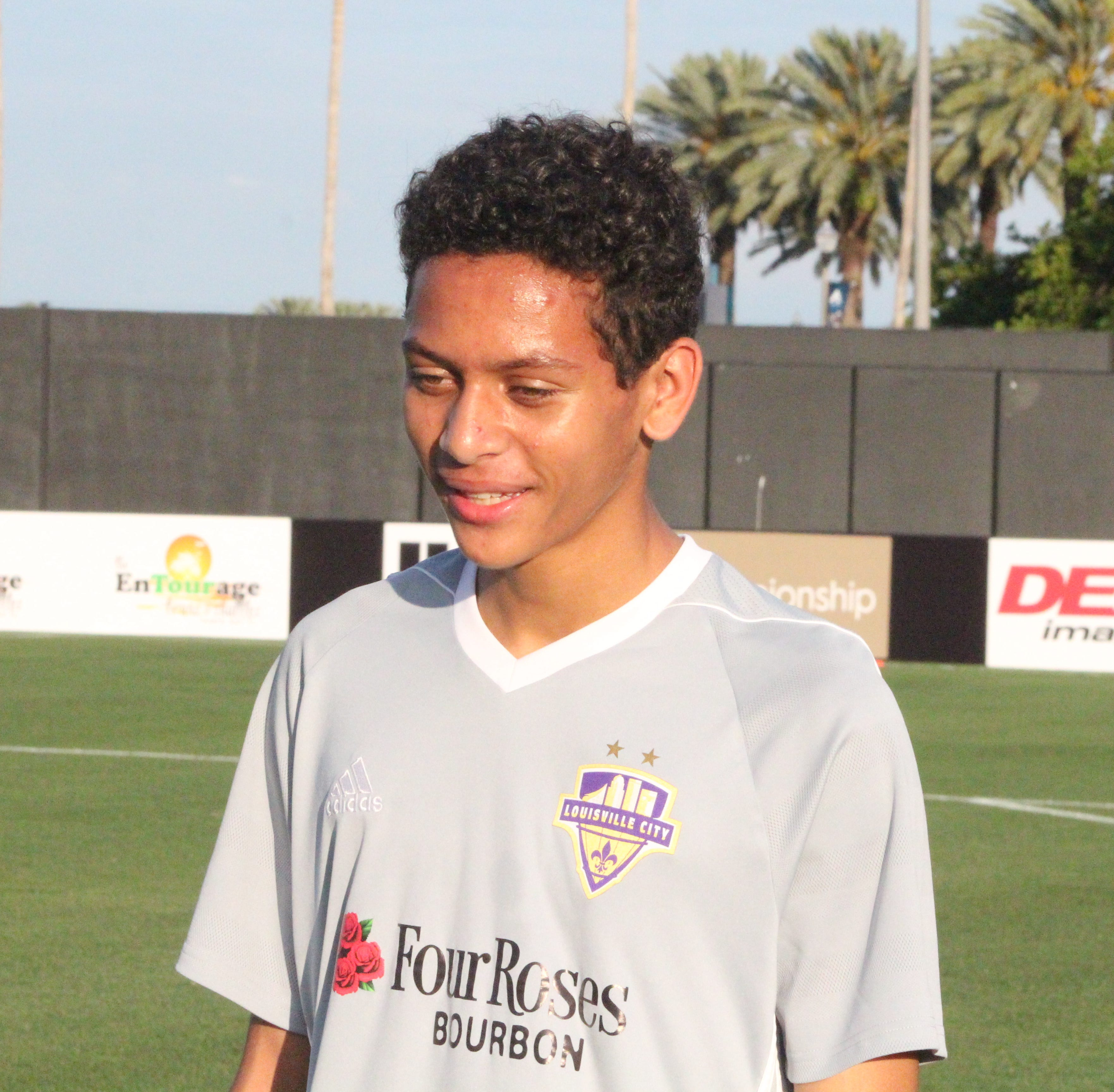Elijah Wynder, 16, says he'll be ready for first game opportunity with Louisville City