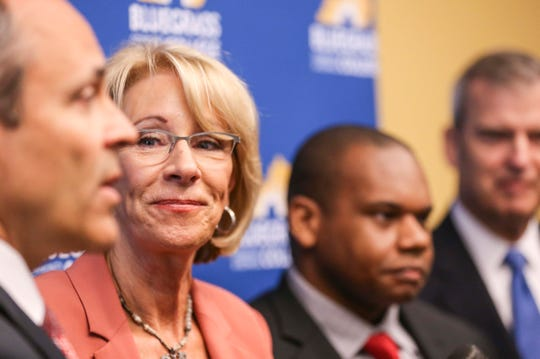 'No Seat at the Roundtable': High school journalists barred from Betsy DeVos event speak out