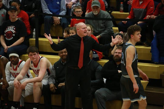 John Hardin's Jared McCurry has been named The Courier Journal's Kentucky Boys Basketball Coach of the Year.