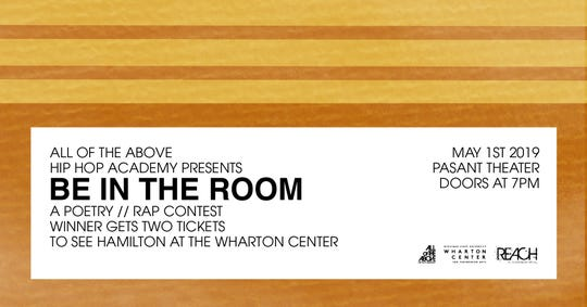 "Lansing's All of the Above Hip Hop Academy is partnering with Wharton to host a slam poetry contest May 1 called ""Be in the Room."""