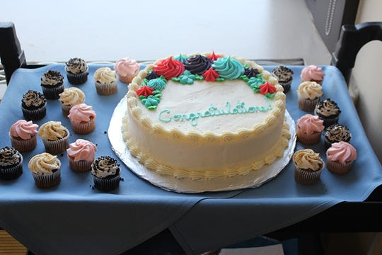 McLaren made sure their patient had a special cake for a special day