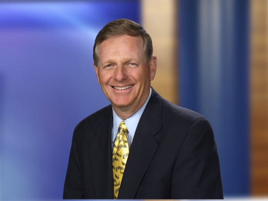 Tim Staudt, who grew up in East Lansing, is a veteran sportscaster who is a finalist for the Michigan Sports Hall of Fame.