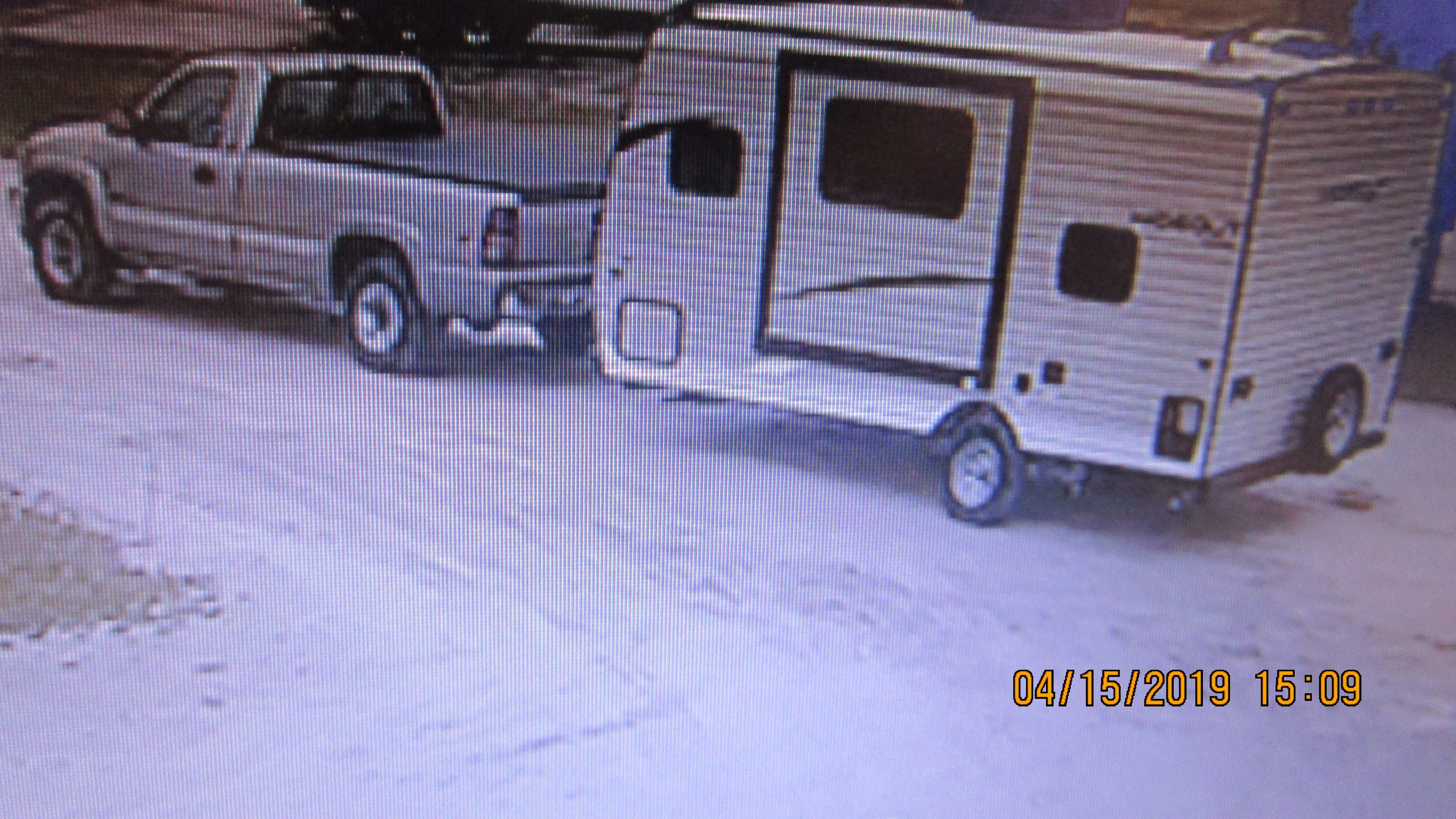 Manitowoc Sheriff's Office search for stolen camper
