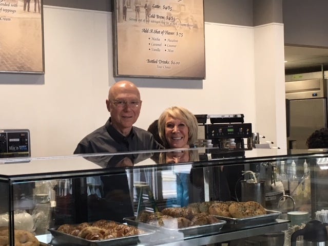 Rick and Carol Taylor opened the Hudson and Essex Deli Wednesday at 51 E. Fourth St.