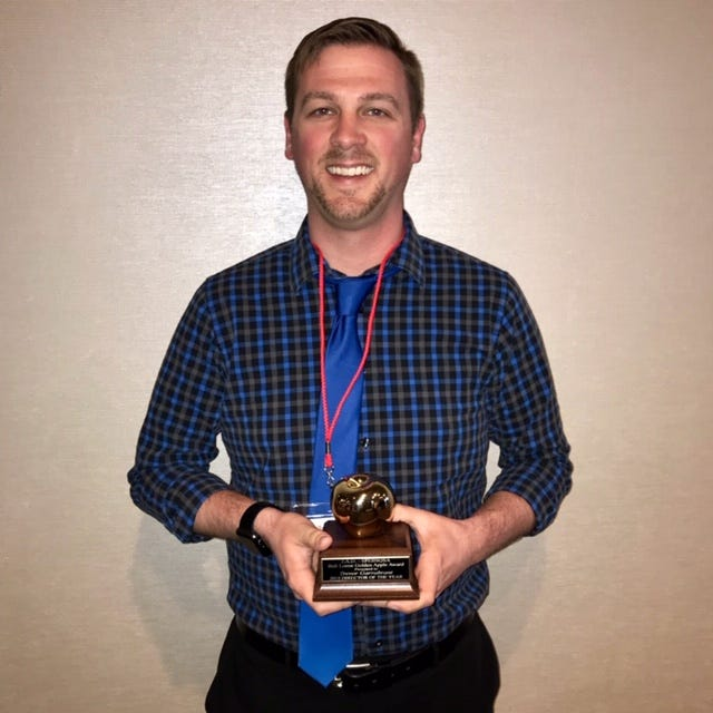 Fun Center Chordsmen front line director Trevor Garrabrant was selected as the JAD Director of the Year.