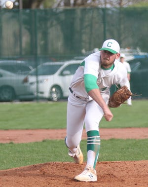 Clear Fork's Mitch Dulin ripped two home runs, added four RBI while pitching six innings allowing two runs, one earned to help the Colts win a sectional title.