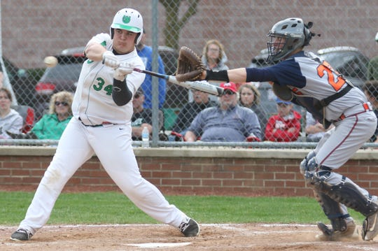 Clear Fork's Brock Talbott had six RBI in a 16-3 win over Galion on Wednesday just one day after the Colts fell to the Tigers 7-5.