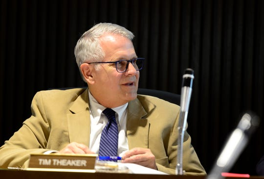 Mayor Tim Theaker said city council members are not allowed to attend the Downtown Improvement Advisory Board meetings.
