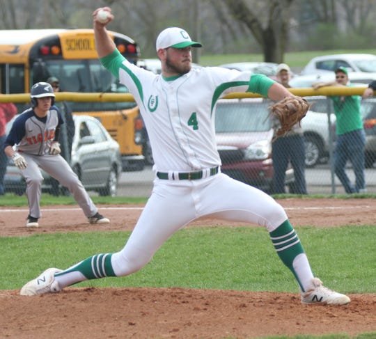 Clear Fork's Mitch Dulin carried the lowest earned run average of all Richland County pitchers with a microscopic 0.64 ERA.