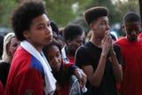 Vigil held in honor of Taylon Vail