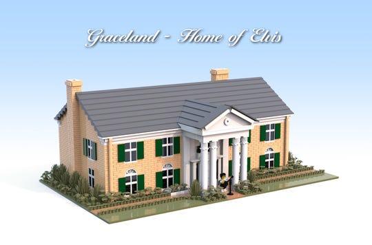 Jimmi Jakobsen, an Elvis fan from Denmark, is trying to make a LEGO Graceland kit a reality.