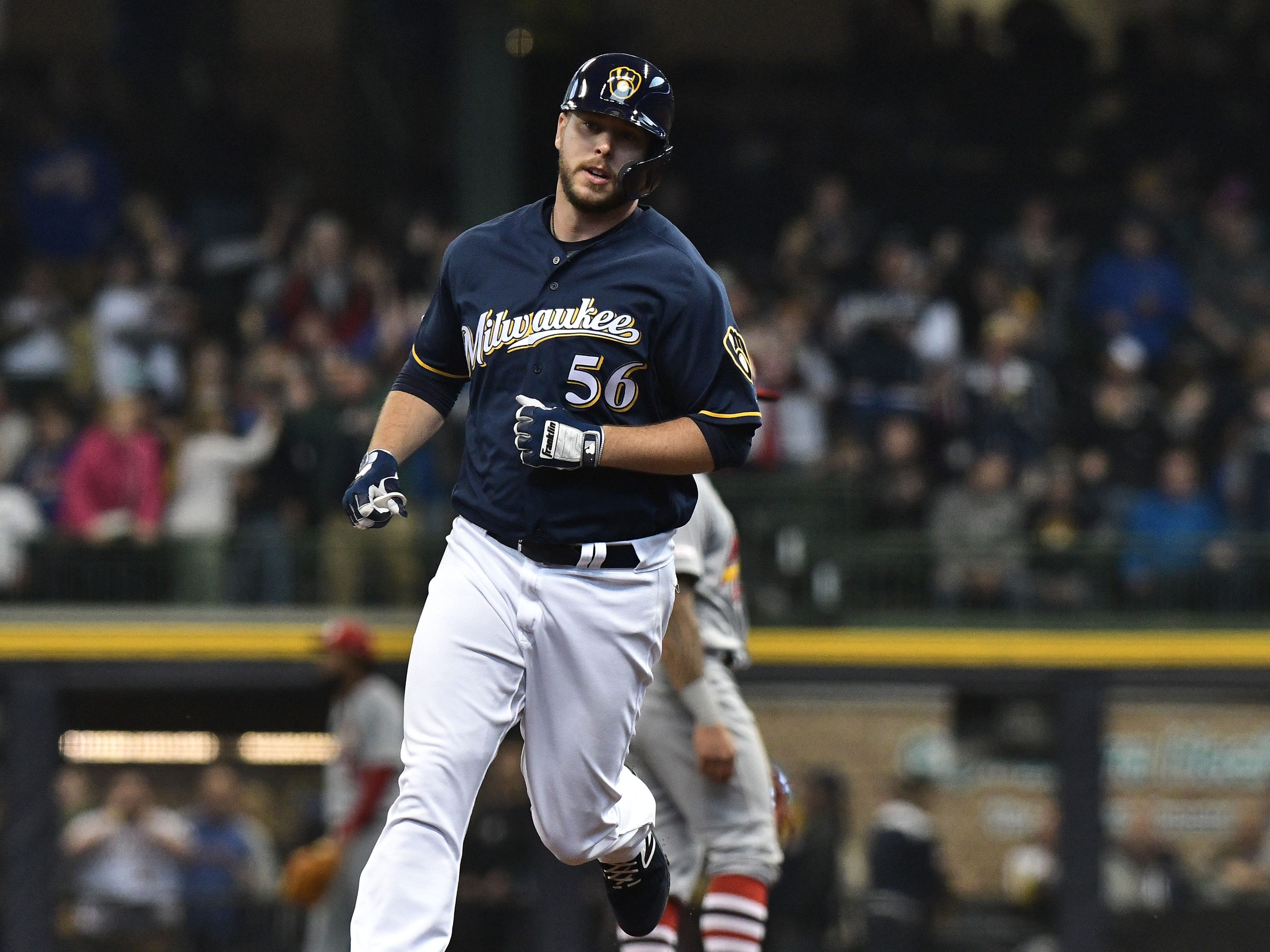 Will this be the best Brewers pitching staff ever when it comes to hitting the baseball?