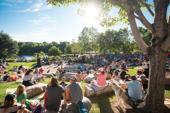 Sounds Like Summer is a popular summer concert series in Eau Claire's Phoenix Park.