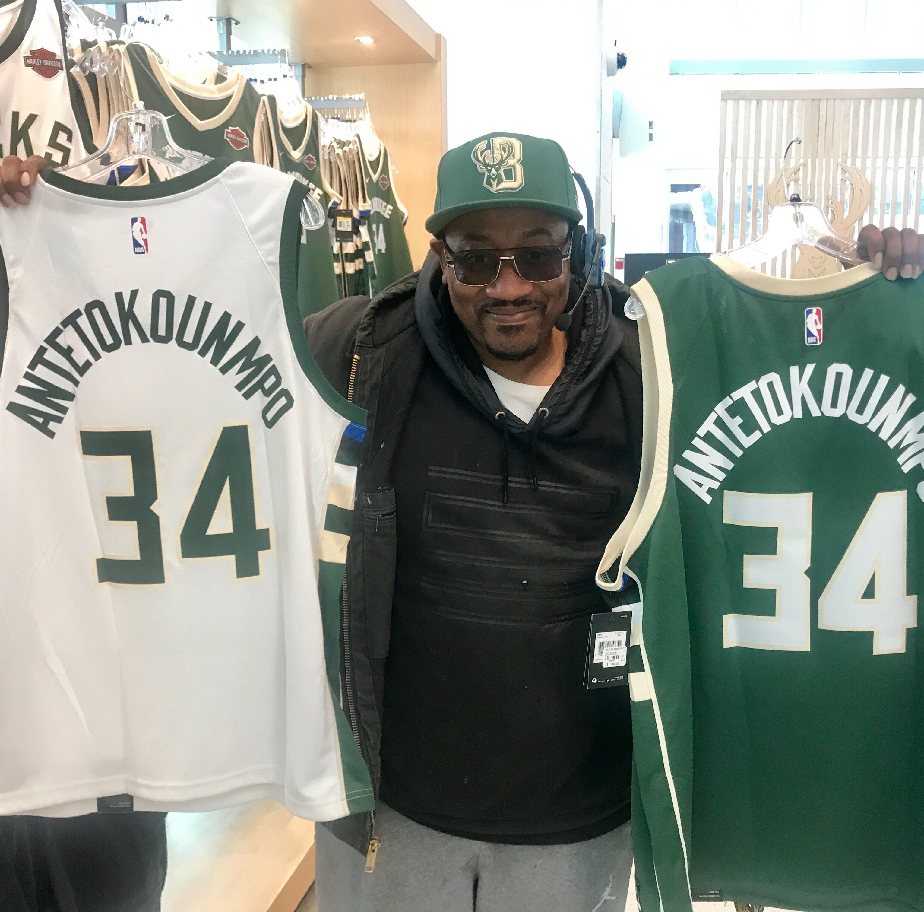 Having the No. 1 team makes it easier to sell Bucks playoff gear to longtime -- and bandwagon -- fans