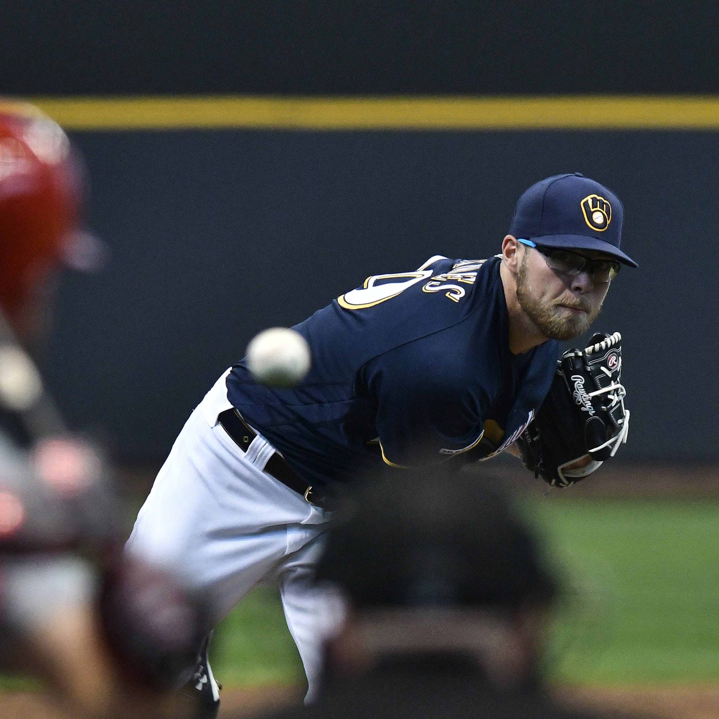 Brewers option struggling starter Corbin Burnes to Class AAA San Antonio