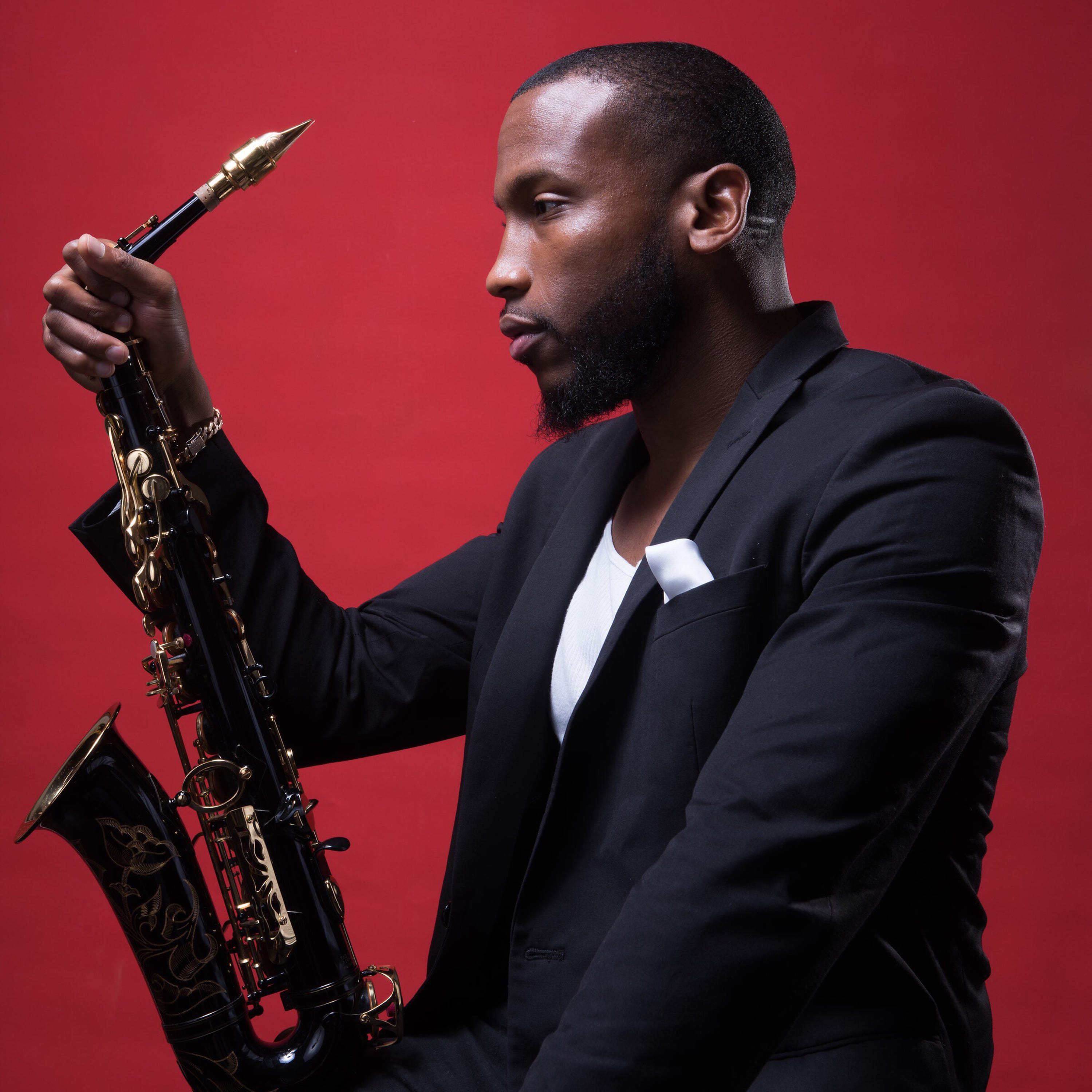 Sax to the max: Trey Daniels takes it all original with Evolve