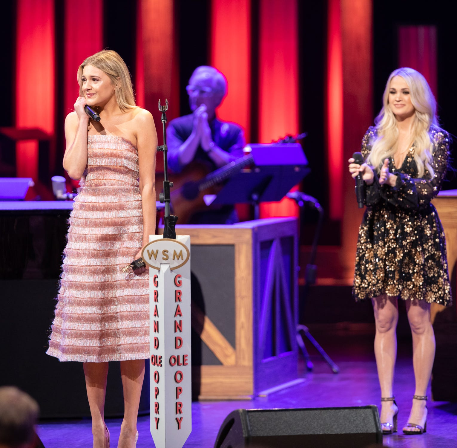 Kelsea Ballerini comes full circle at Opry, thanks to Carrie Underwood