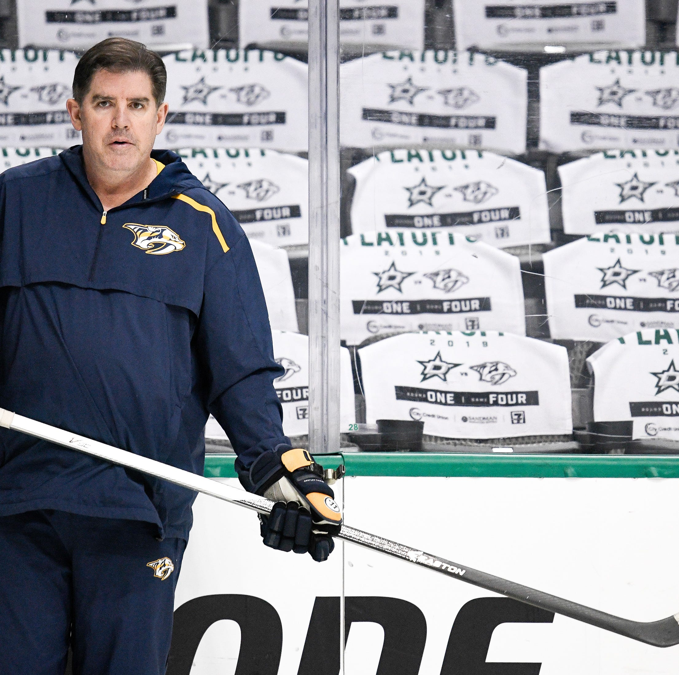 Peter Laviolette says Predators' powerless power-play woes fall on him