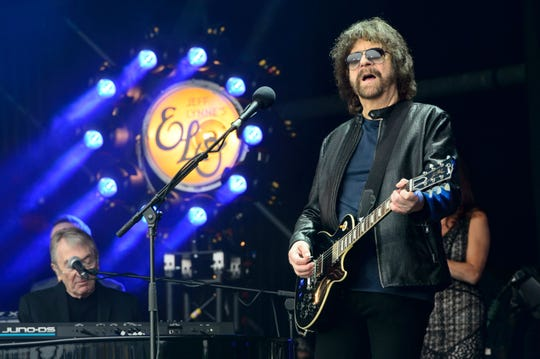 Jeff Lynne performs at the Glastonbury festival in England in 2016. Lynne will bring his band to Florida for concerts in July 2019.