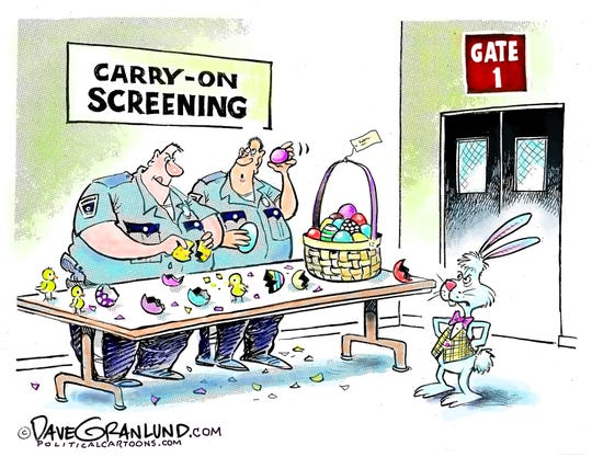 easter bunny screened