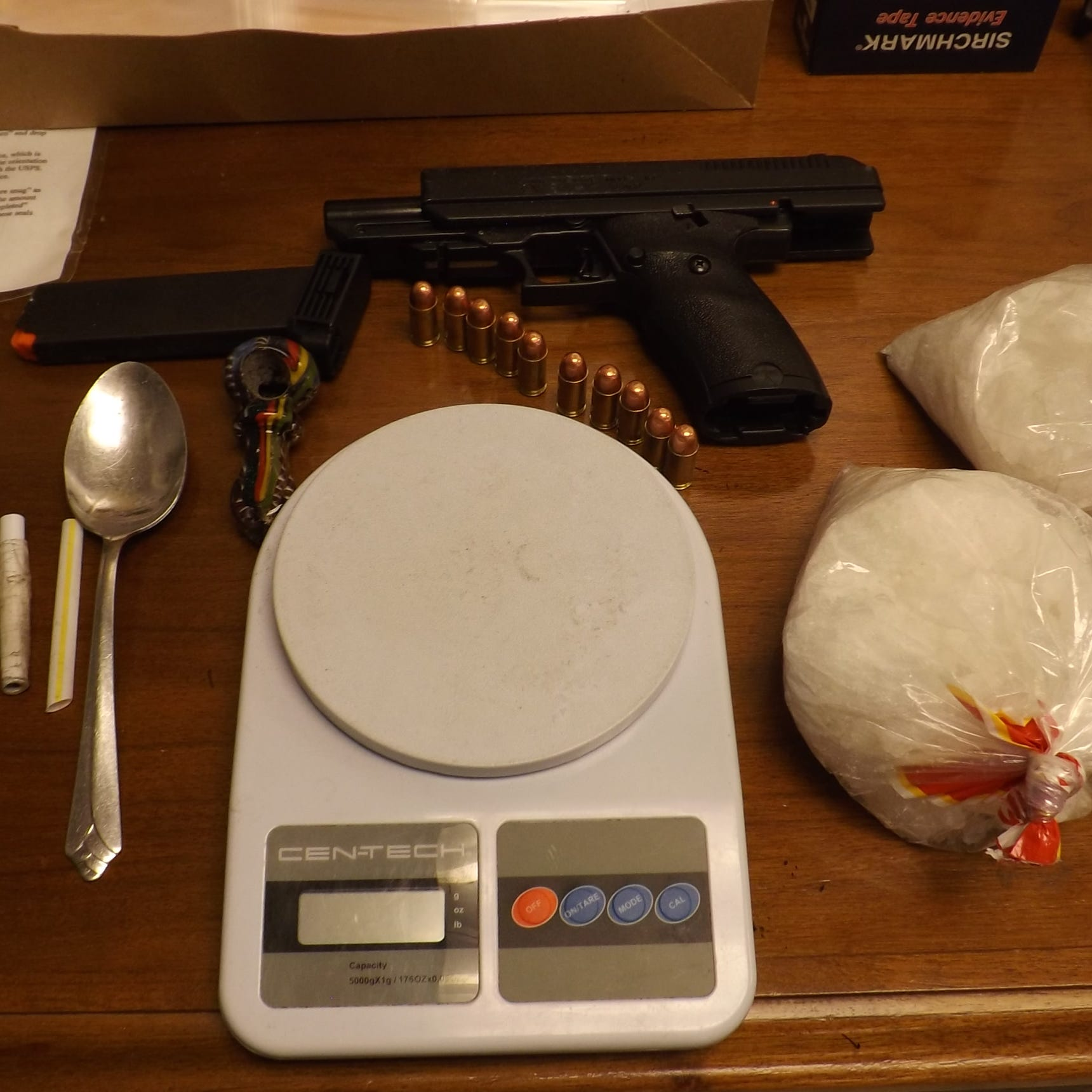 Troopers seize loaded firearm, $10k in meth in Licking County