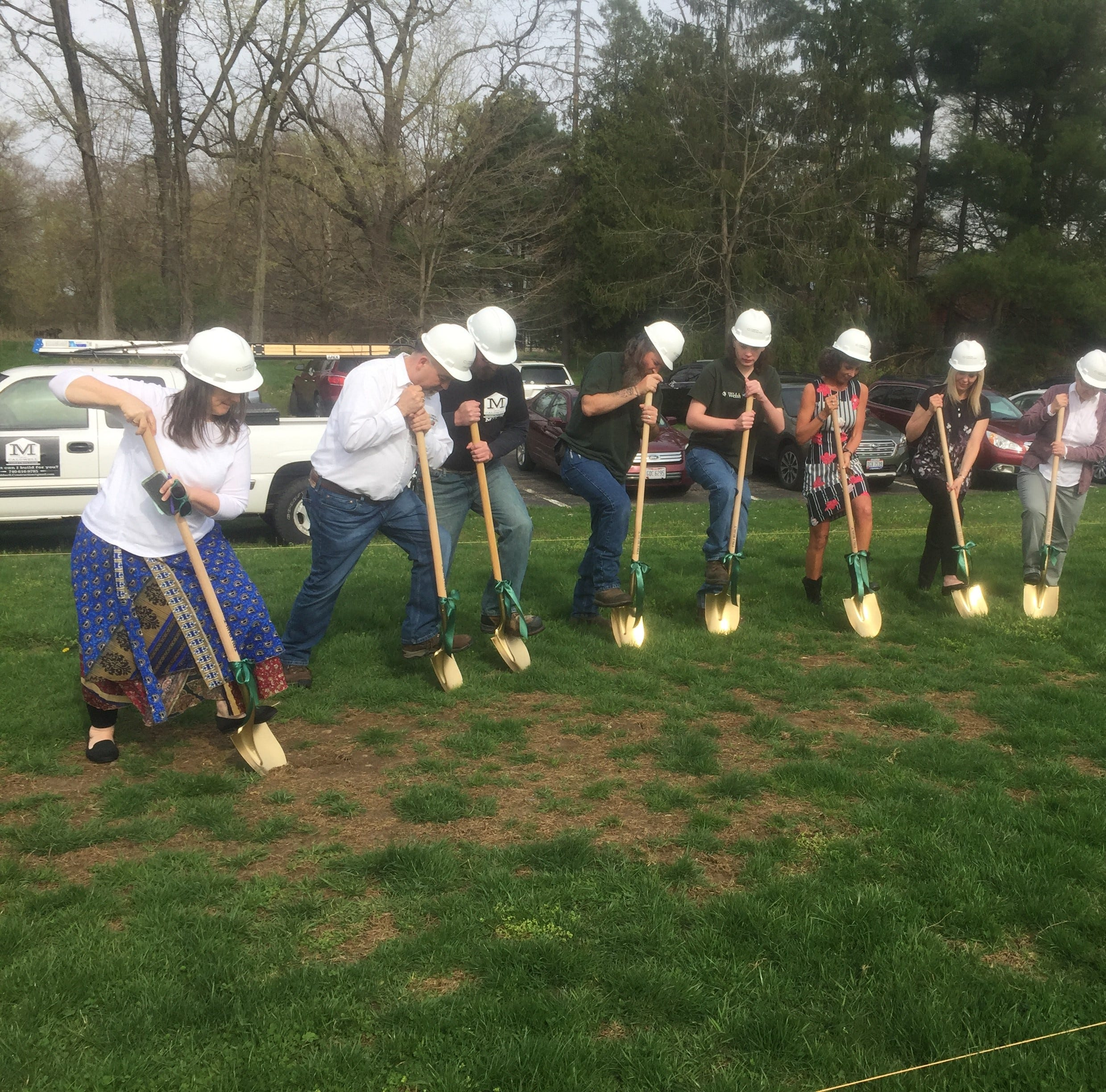 Ground broken for new Welsh Hills High School