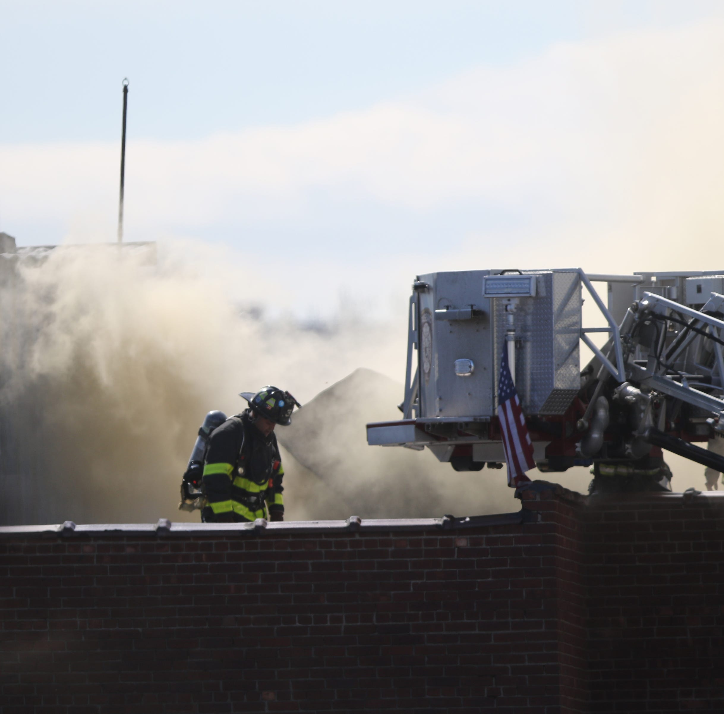 No serious injuries in four-alarm fire at Passaic mattress warehouse