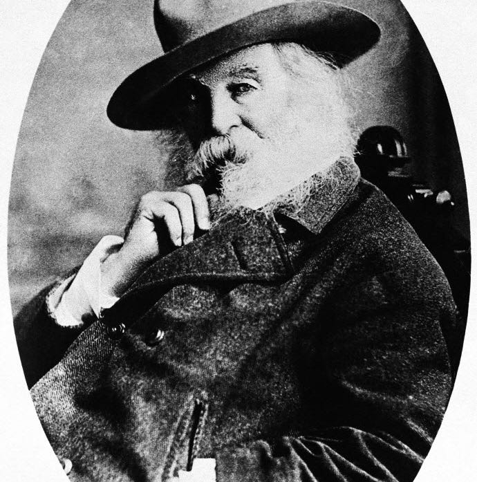 Walt Whitman is our national poet, and a gay icon