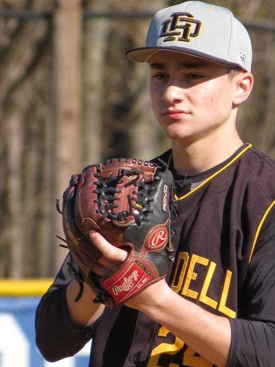 Charlie O'Mealy is among more than 15 River Dell baseball players who were sidelined due to a flu-like illness.