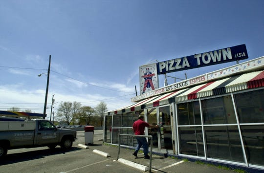 Pizza Town USA on Rte. 46 westbound since 1958.  Carmine Galasso / The Record.