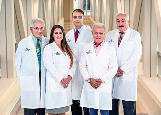 The vascular surgery team at Englewood Health.