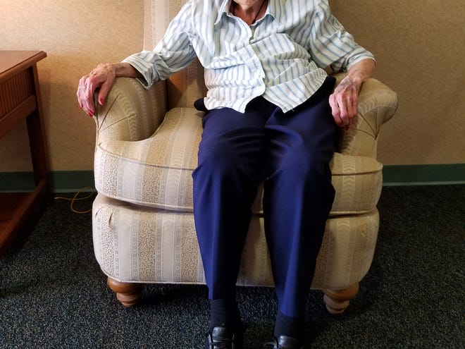Emadair Jones's birthday was on April 7. She turned 103.